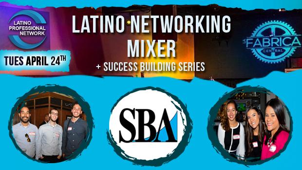 April Latino Networking Mixer In Boston