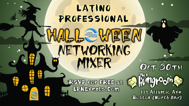 October Latino Networking Mixer In Boston