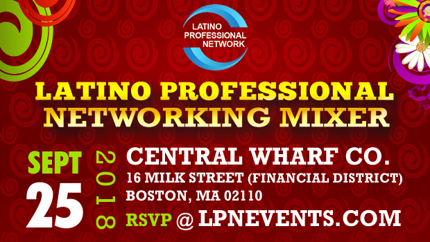 September Latino Networking Mixer In Boston