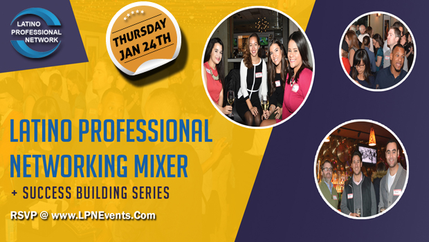January Latino Networking Mixer In Boston