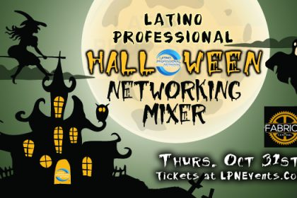 LPN Halloween latino networking mixer